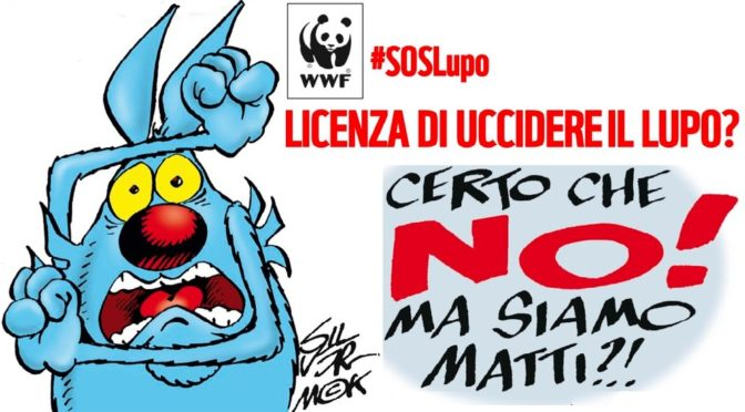 CAMPAGNA SOCIAL DEL WWF FA IMPENNARE #SOSLUPO