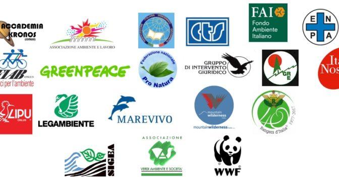 Ambiente: Associazioni, Governo rinunci a valutazioni ambientali 'farsa'. 20 Associazioni denunciano rischi per il territorio e per bene pubblico
