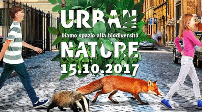 "Domenica 15 ottobre ""Urban Nature"""